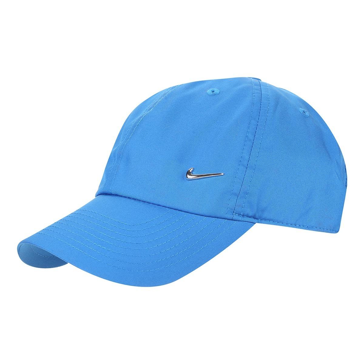 boné nike sportswear h86 metal swoosh (azul roya) -  corrida. Carregando  zoom. a0055bf606c