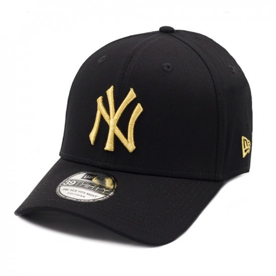 27cdd01b1 Bone Ny Bordado Dourado New Era Original - R  159