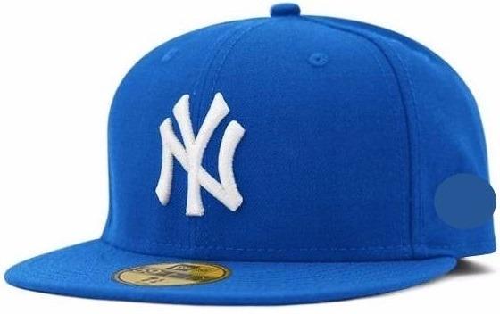 794720bb8b9d0 Boné Ny New York Aba Reta Yankees Snap Fechado Azul Bebê - R  69