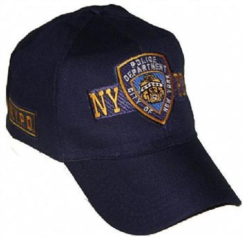 9dc14f54e Boné Nypd - Policia Nova York - Azul - Airsoft - Paintball - R  35 ...