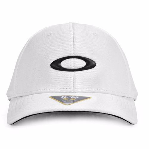 Boné Oakley Aba Curva Silicon Cap 2.0 Branco S m - R  179 fc5ffdb22e7