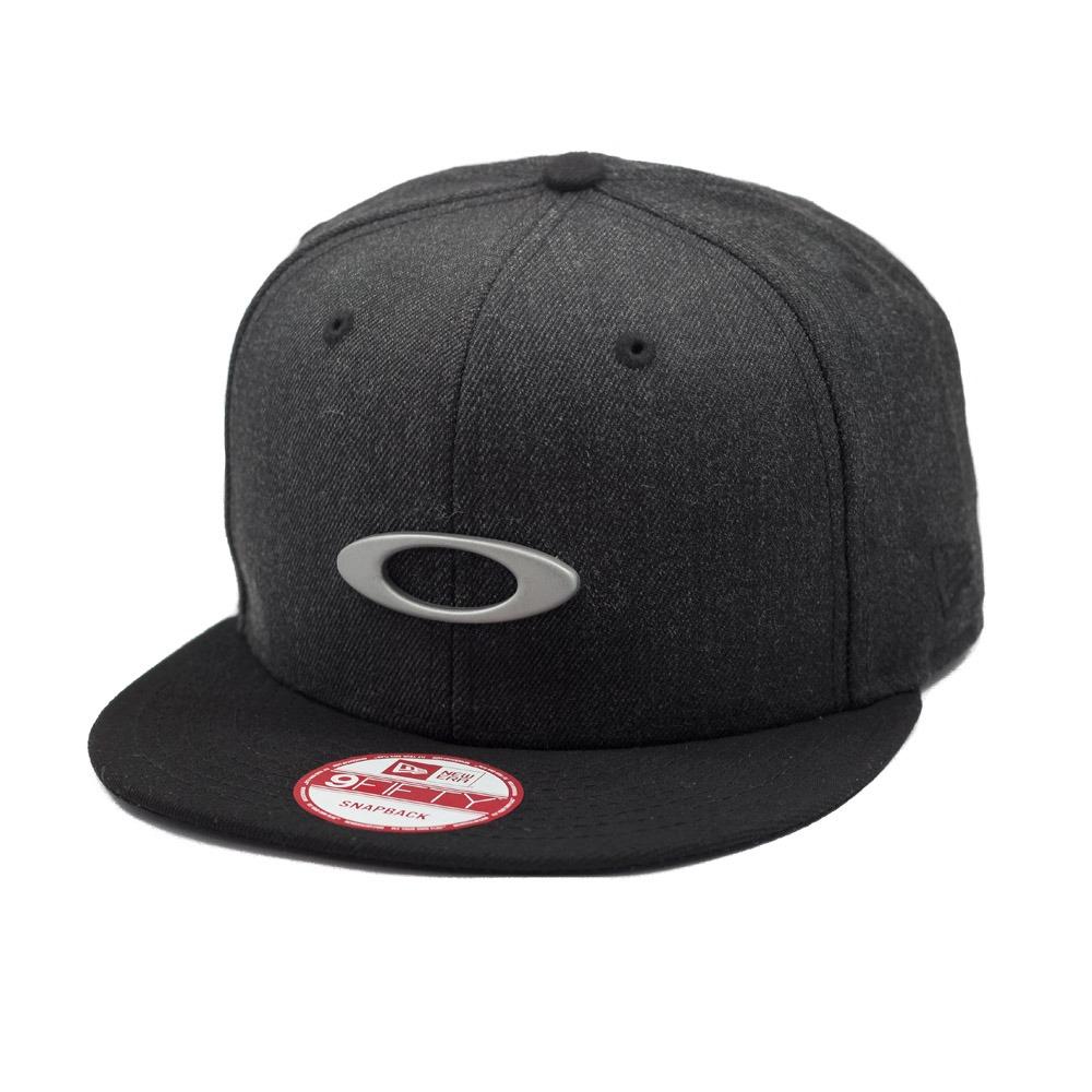 boné oakley aba reta o-justable snapback metal cap jet black. Carregando  zoom. 3726fcecb45