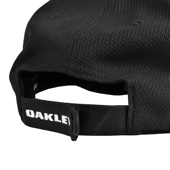 Boné Oakley Golf Ellipse Hat Aba Curva Preto - R  169 e29dd7d6efd