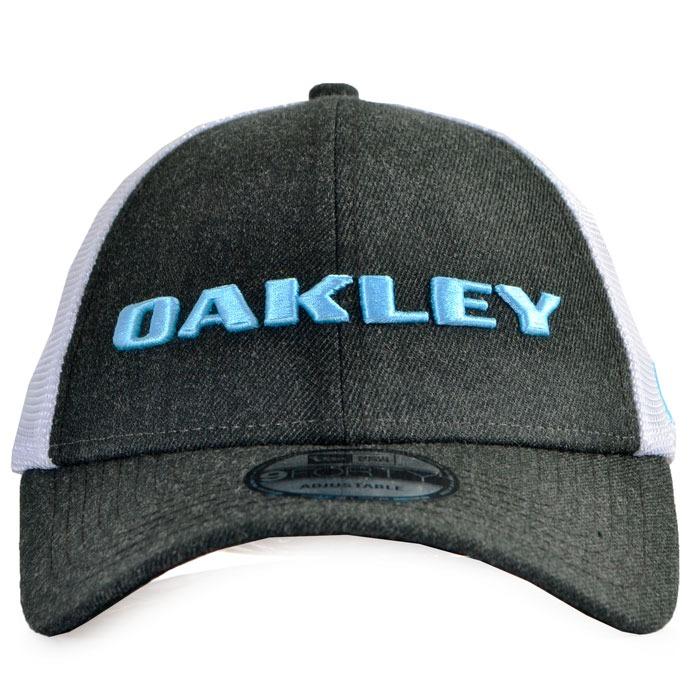 Boné Oakley Heather New Era Hat Aba Curva Snapback Cinza - R  219 7070604985f