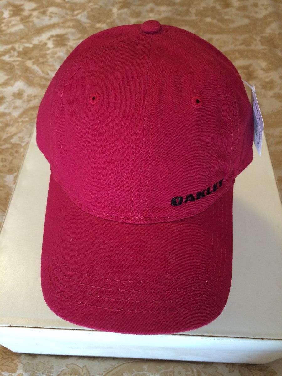 1e45881d01f36 Bone Oakley Importado- Vermelho - Com Regulagem - Tam. Unico - R  79 ...
