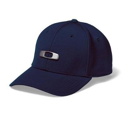 ab5af76458 Boné Oakley Metal Gascan Azul Marinho + Frete Gratis - R$ 69,00 em ...