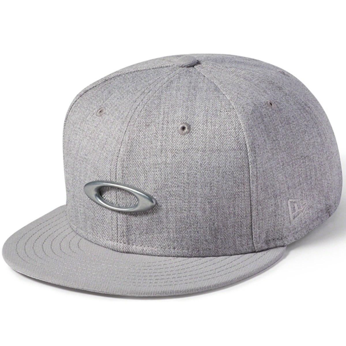 boné oakley o-justable metal cap cinza. Carregando zoom. 7a89b8f6f9c