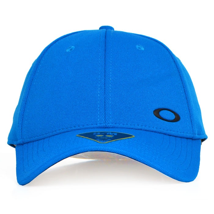 3e18addea0 Boné Oakley Silicon Ellipse Aba Curva Flexfit Azul - R$ 219,90 em Mercado  Livre