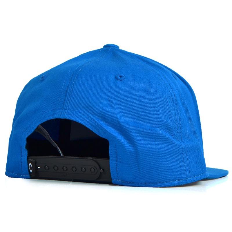 boné oakley sliver 110 aba reta snapback azul. Carregando zoom. 31c3d2250cd91