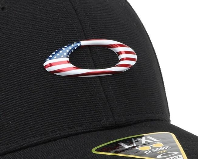 Boné Oakley Tincan Cap Black American Flag 100% Original - R  169 73754de680a