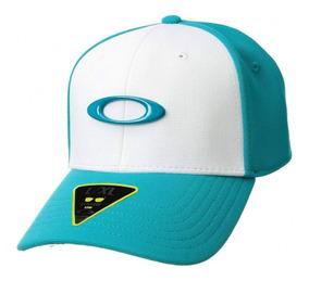 info for 8c98d 1cc1a Boné Oakley Tincan Cap Lake Blue 100% Original
