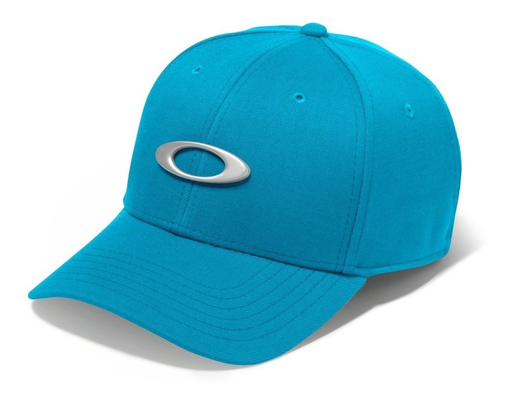 ab3a0e499a Bone Oakley Tincan Oval ( Azul Bebe S/m ) - R$ 179,90 em Mercado Livre