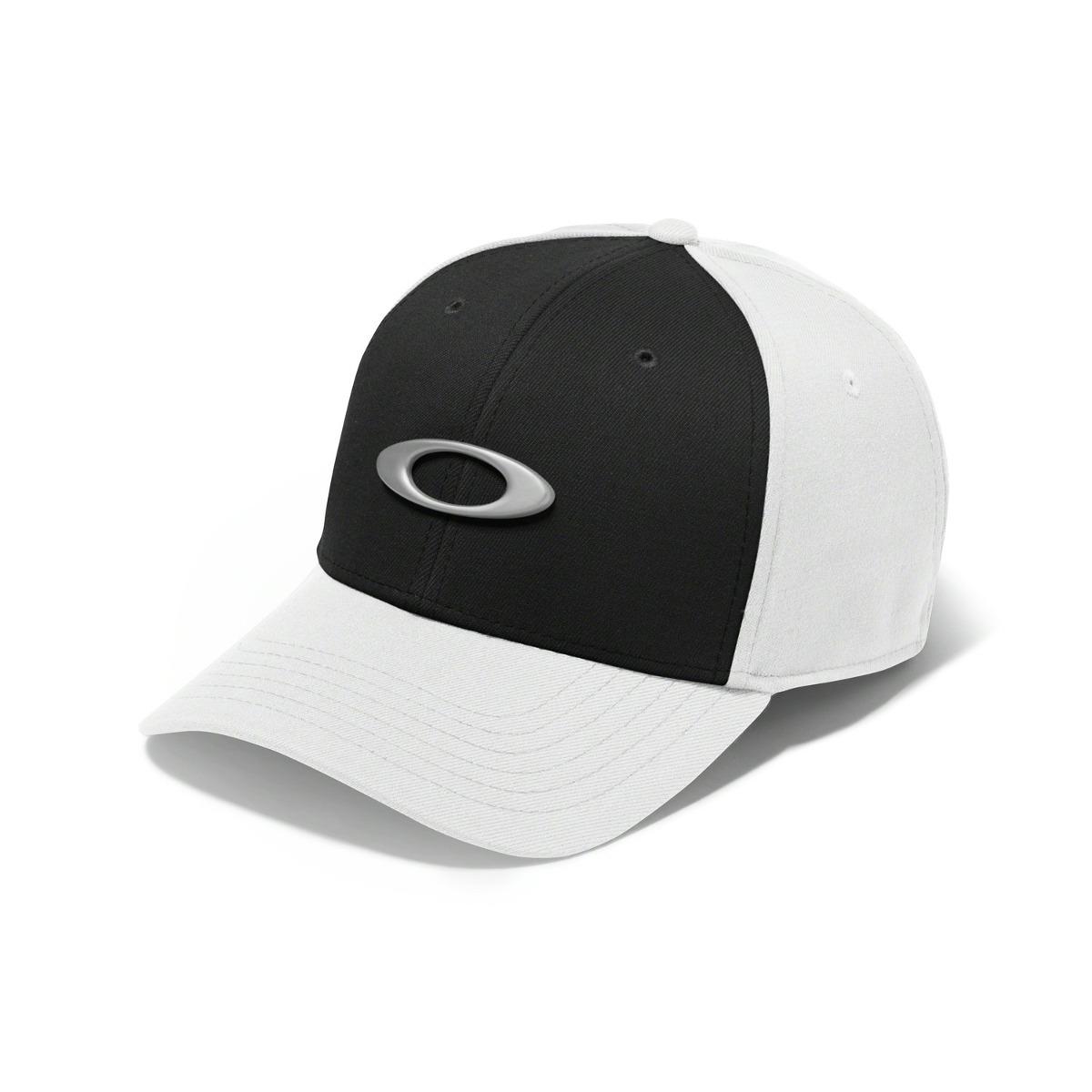 bone oakley tincan oval ( branco com preto s m ). Carregando zoom. fe36f215178