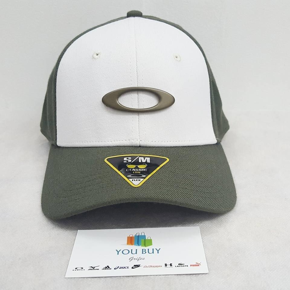 Bone Oakley Tincan Oval ( Verde Musgo S m ) - R  179,90 em Mercado Livre 1fefed71c3