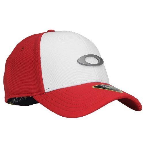 Bone Oakley Tincan Oval (vermelho Com Branco S m) - R  149 5ce4d048197