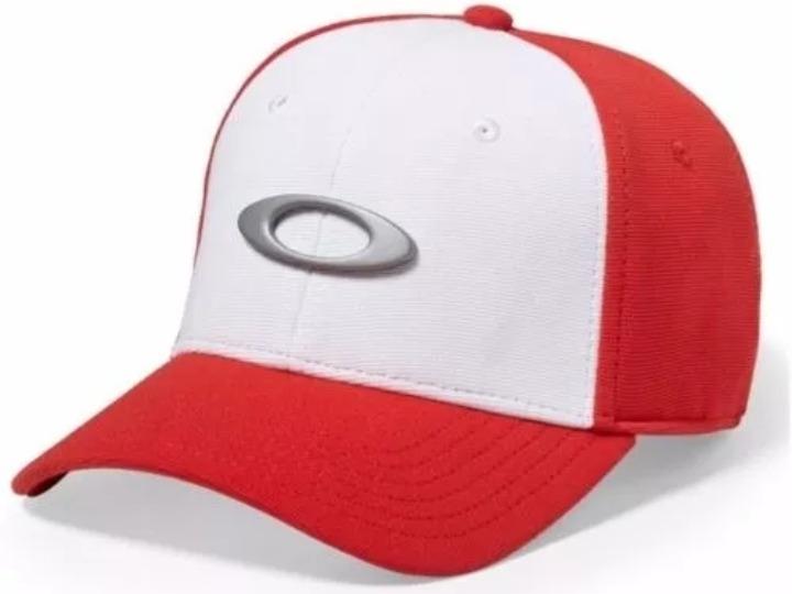 Bone Oakley Tincan Oval ( Vermelho E Branco) - - R  189 514d2ea6d1e