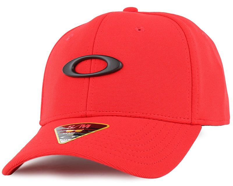 boné oakley tincan vermelho simbolo preto sm medio original. Carregando  zoom. 90c957ead6e