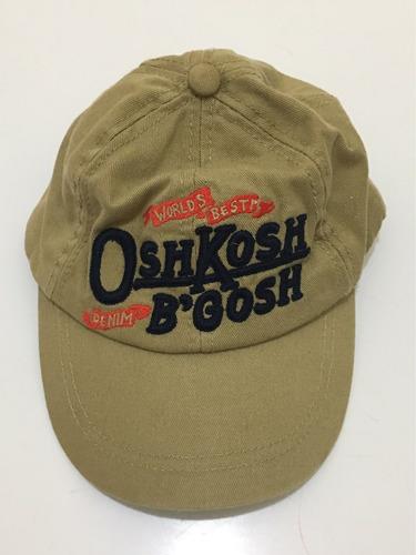 boné oshkosh 2 4 anos  49 cm na medida máxima! original