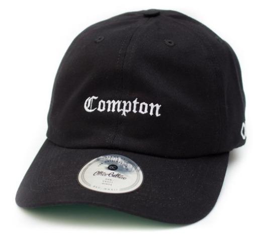 Boné Other Culture Dad Hat Mini Compton Preto - R  99 39facd4b7c0