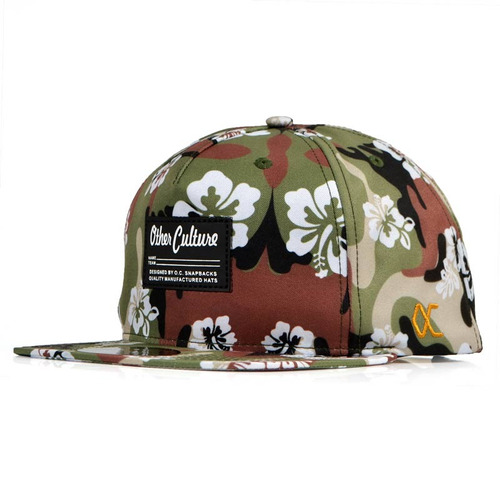 Boné Other Culture Hats Woodland Aba Reta Snapback Verde - R  119 0998e06ef7f