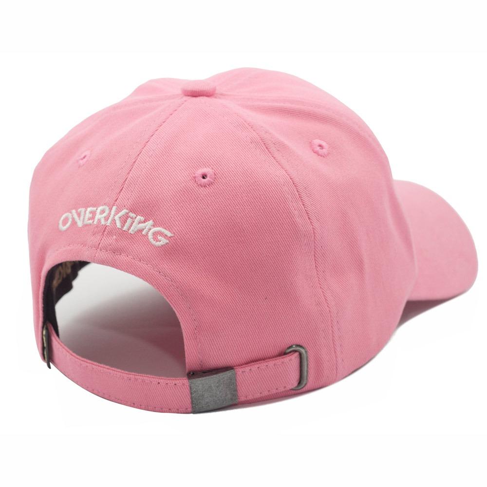 73ea7e40a boné overking aba curva dad hat strapback king rosa. Carregando zoom.