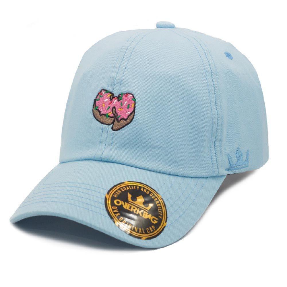 boné overking wu tang donut strapback dad hat aba curva azul. Carregando  zoom. f3bab5af800