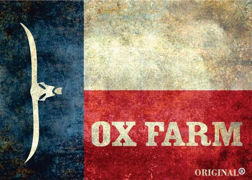 boné  ox farm, caqui/azul marinho/vinho.