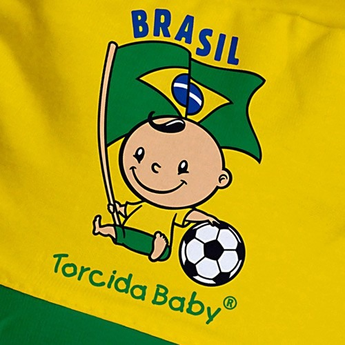 Boné Para Bebê Brasil - Torcida Baby - 002 - R  18 32c5eec791438
