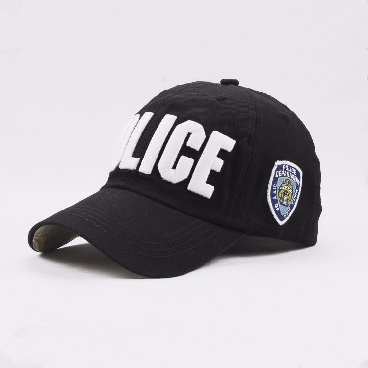 e092c7a3e Boné Police Policia Americana New York Nypd Baseball Ny - R  79