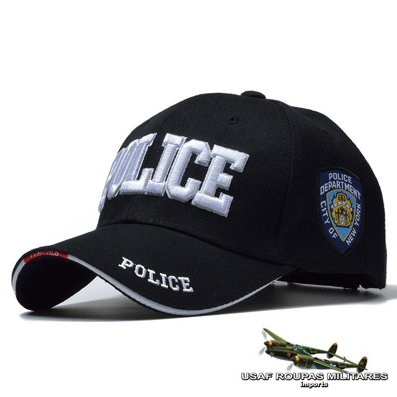 boné - policia new york. Carregando zoom. 090a04ac8a0