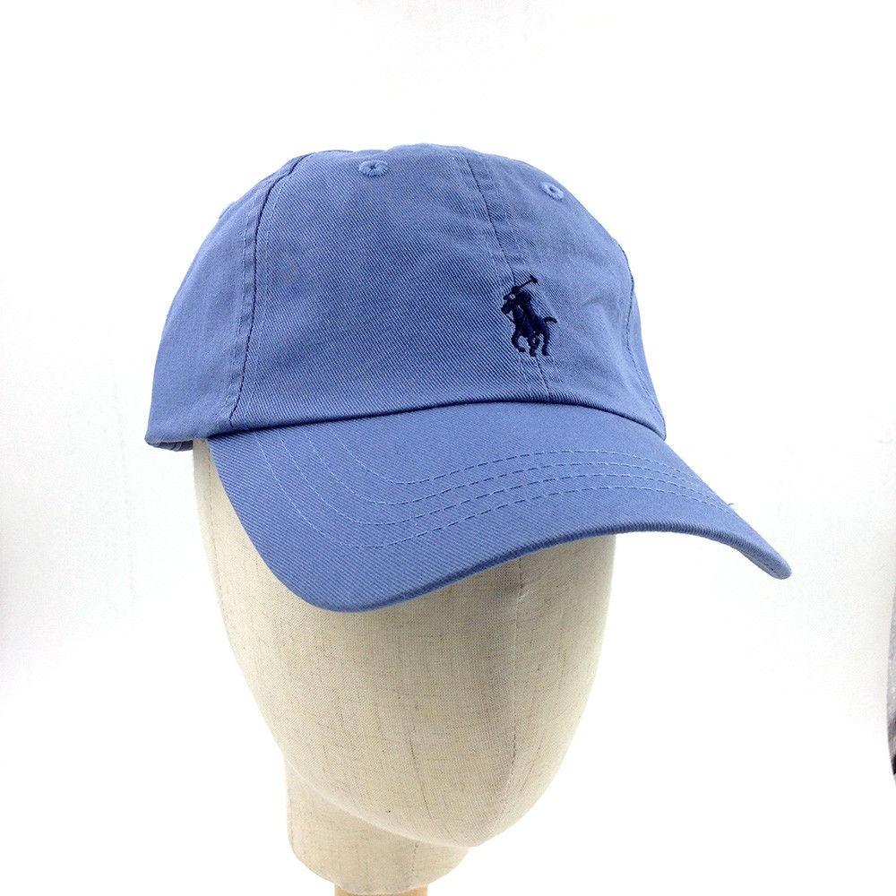boné polo ralph lauren correia de pano original cor azul aço. Carregando  zoom. 0e155cc86a0