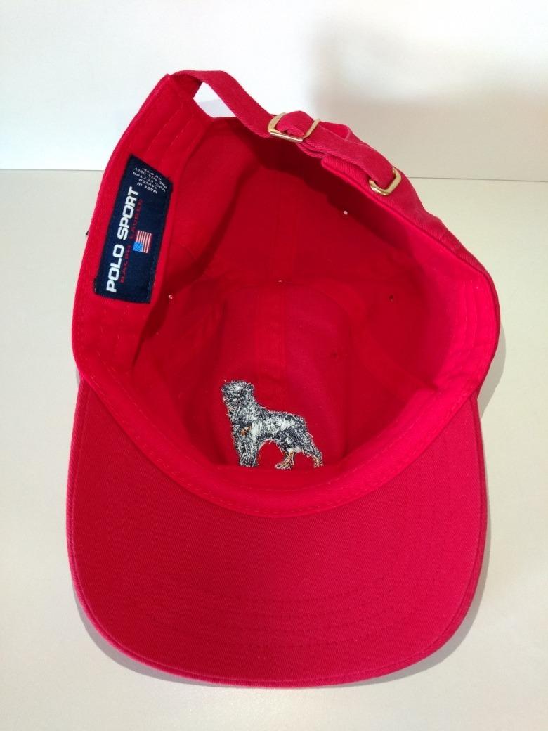 33b889a3b7521 boné polo sport ralph lauren dog original + frete + brinde!! Carregando  zoom.