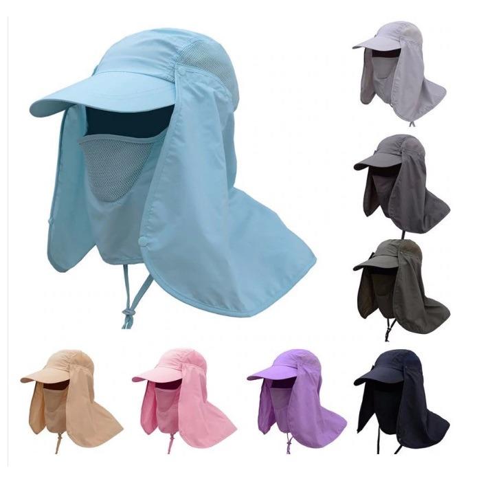 Boné Proteção Solar Chapéu Pesca Ouvido Pescoço Super Barato - R  39 ... 2c05e5c3f4b
