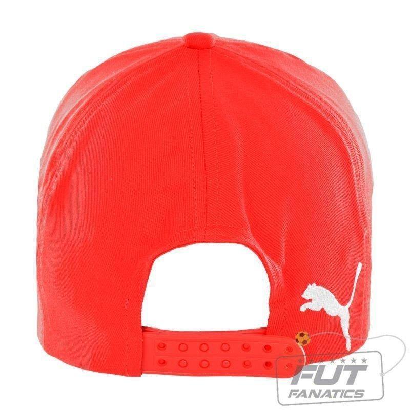 7ce77b785fa41 boné puma arsenal leisure cap vermelho - futfanatics. Carregando zoom.