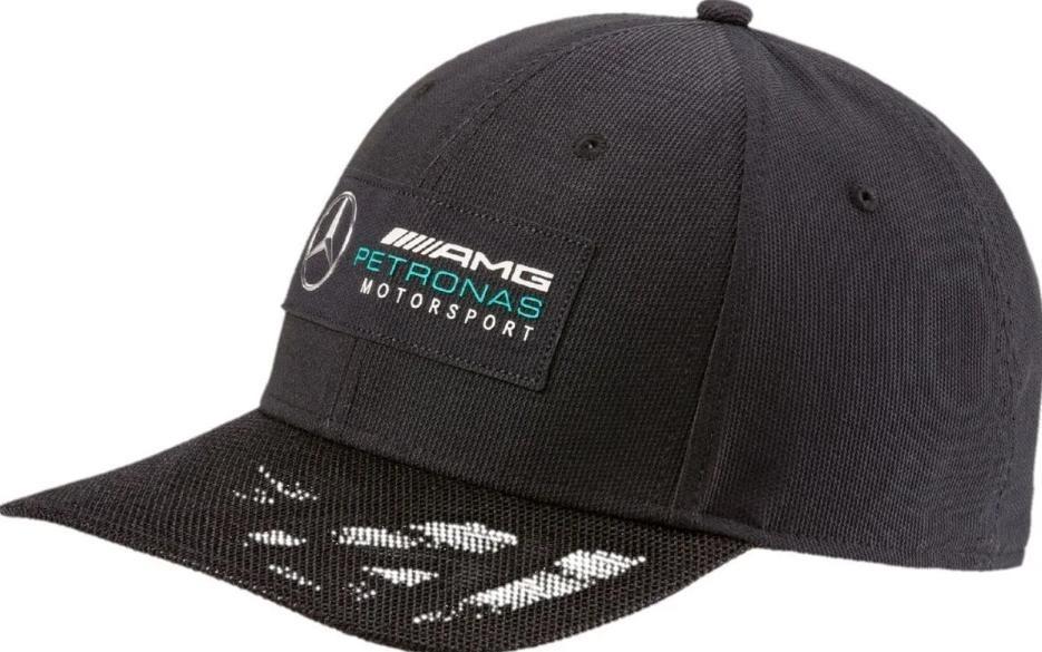 dbdcf31162 Boné Puma Baseball Mercedes F1 Amg Petronas Preto - R$ 119,90 em ...