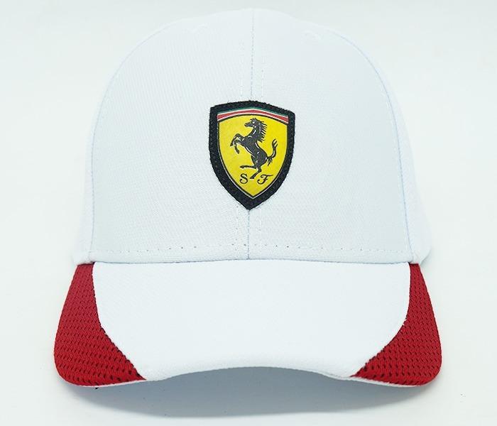 d5640856dc4 Boné Puma Ferrari Branco E Vermelho - R  80