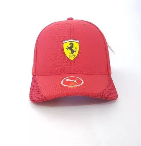 Boné Puma Ferrari Fanwear Tech Vermelho Formula 1 - R  90 37fd4a9136c