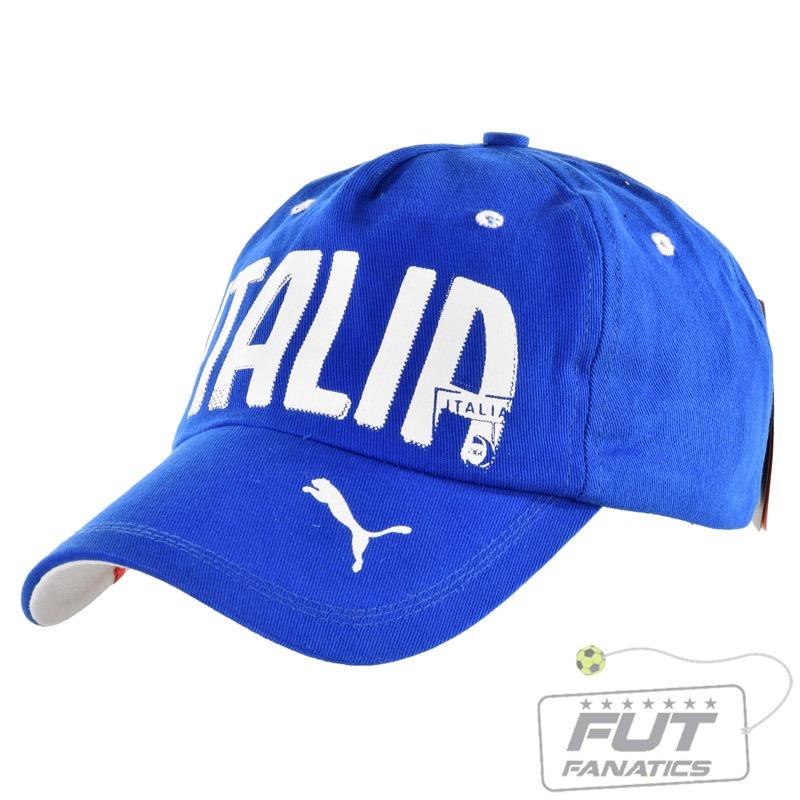 boné puma itália graphic cap azul - futfanatics. Carregando zoom. cffda418ddb