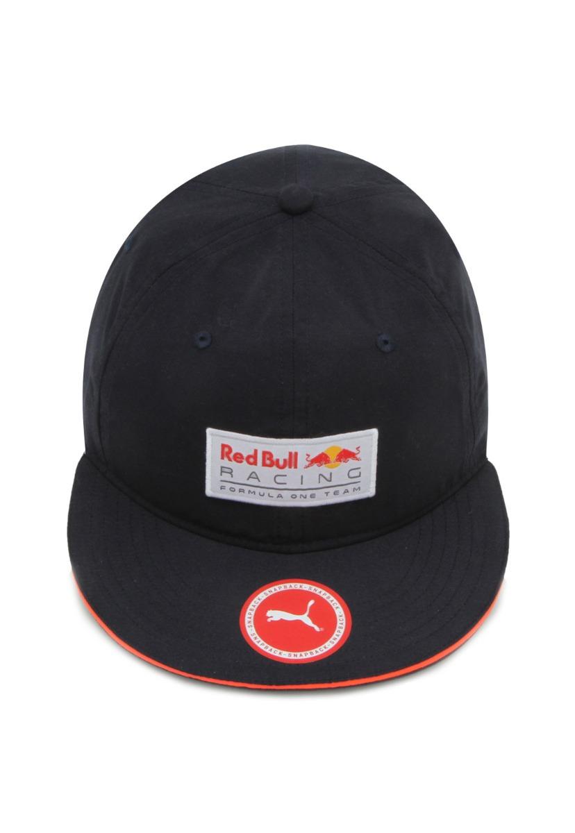 Boné Puma Red Bull Racing Aba Curva Lifestyle Masculino - Ma - R  99 ... 9c0a5a03a9e