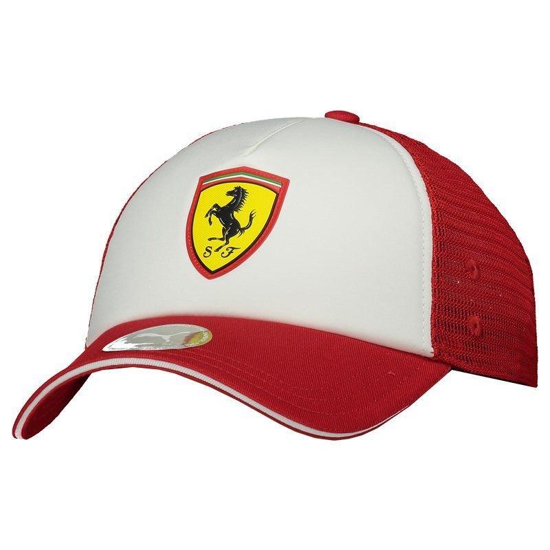 c306dfa429 Boné Puma Scuderia Ferrari Fanwear Trucker - R$ 114,90 em Mercado Livre
