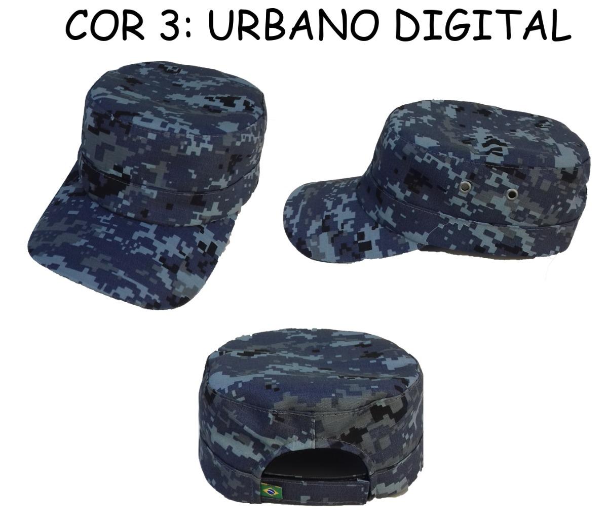 boné quepe boina camuflado militar c  ajuste. Carregando zoom. 0795f90739f