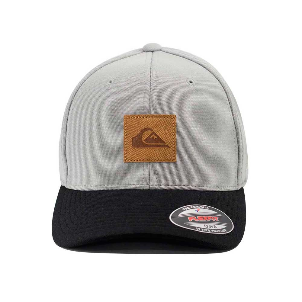 4d3ca6c6bd1f0 boné quiksilver aba curva leather patch. Carregando zoom.
