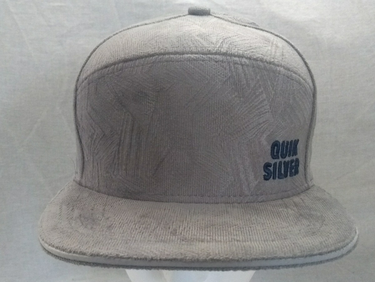 boné quiksilver aba reta cinza veludo snap back bone surf. Carregando zoom. 7f1b2a0151f