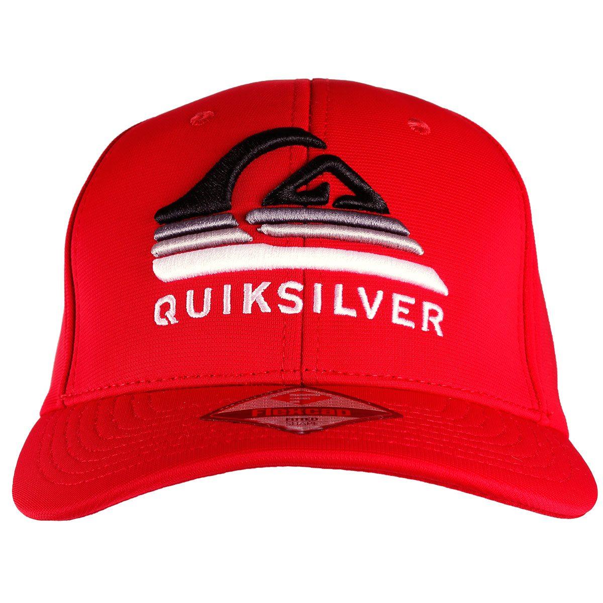 boné quiksilver curved peak devided logo vermelho. Carregando zoom. 6bb77de17ed