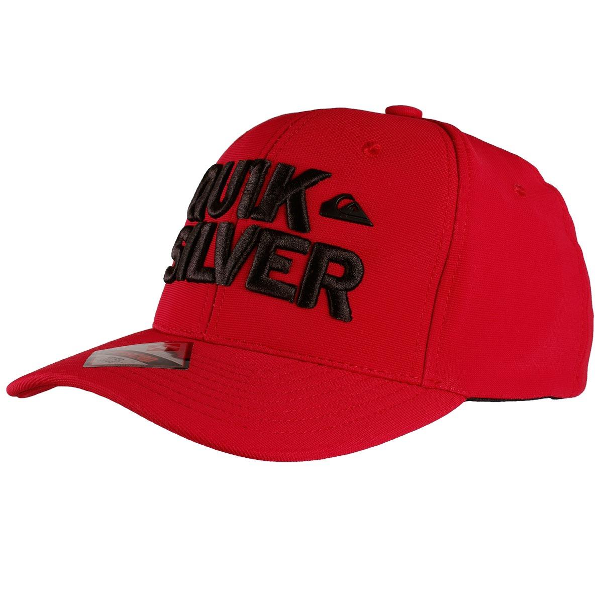 boné quiksilver curved peak over under vermelho. Carregando zoom. 2d2660f1c15