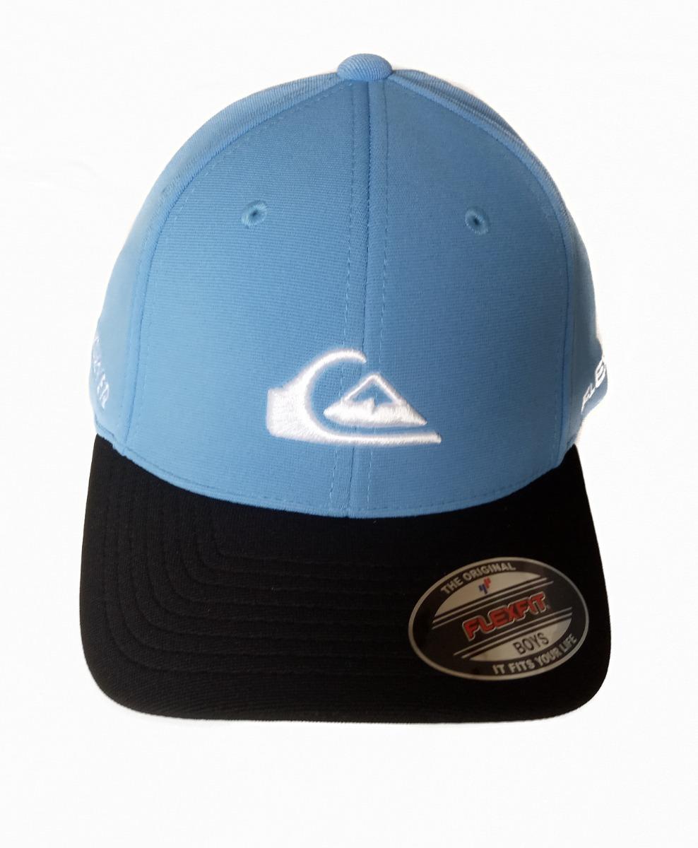 boné quiksilver embroyed azul tamanho juvenil original. Carregando zoom. 3017a24f143