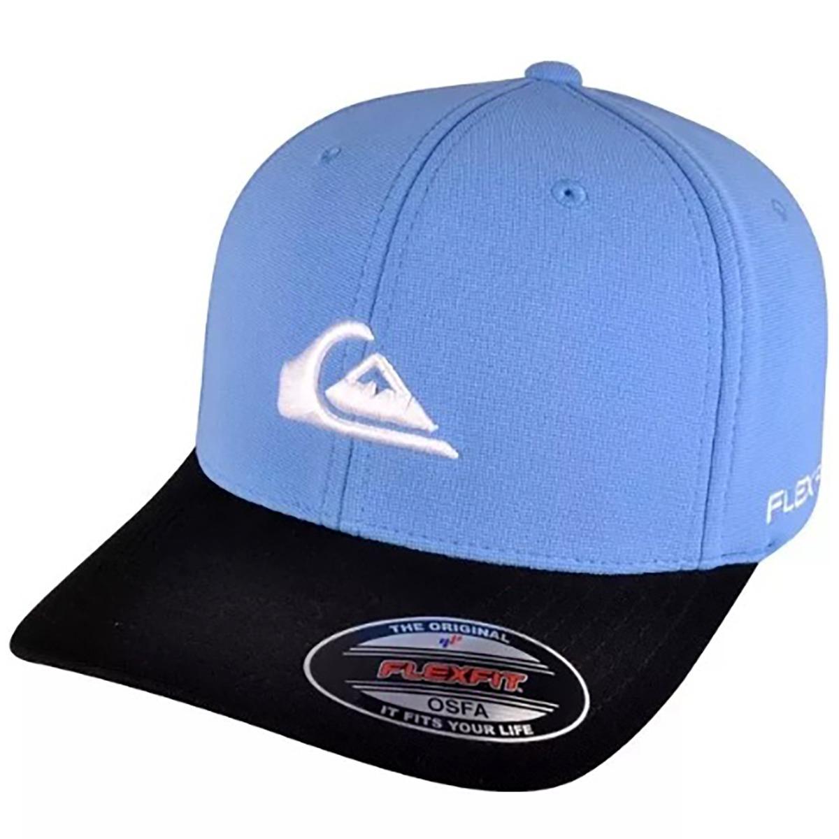 000b60727b19a boné quiksilver embroyed logo imp azul - 100% original. Carregando zoom.
