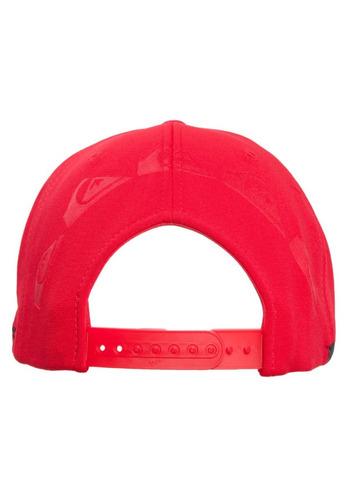 Boné Quiksilver Five Wip Stitch Vermelho 2636 Promoção - R  139 737a8e4f776
