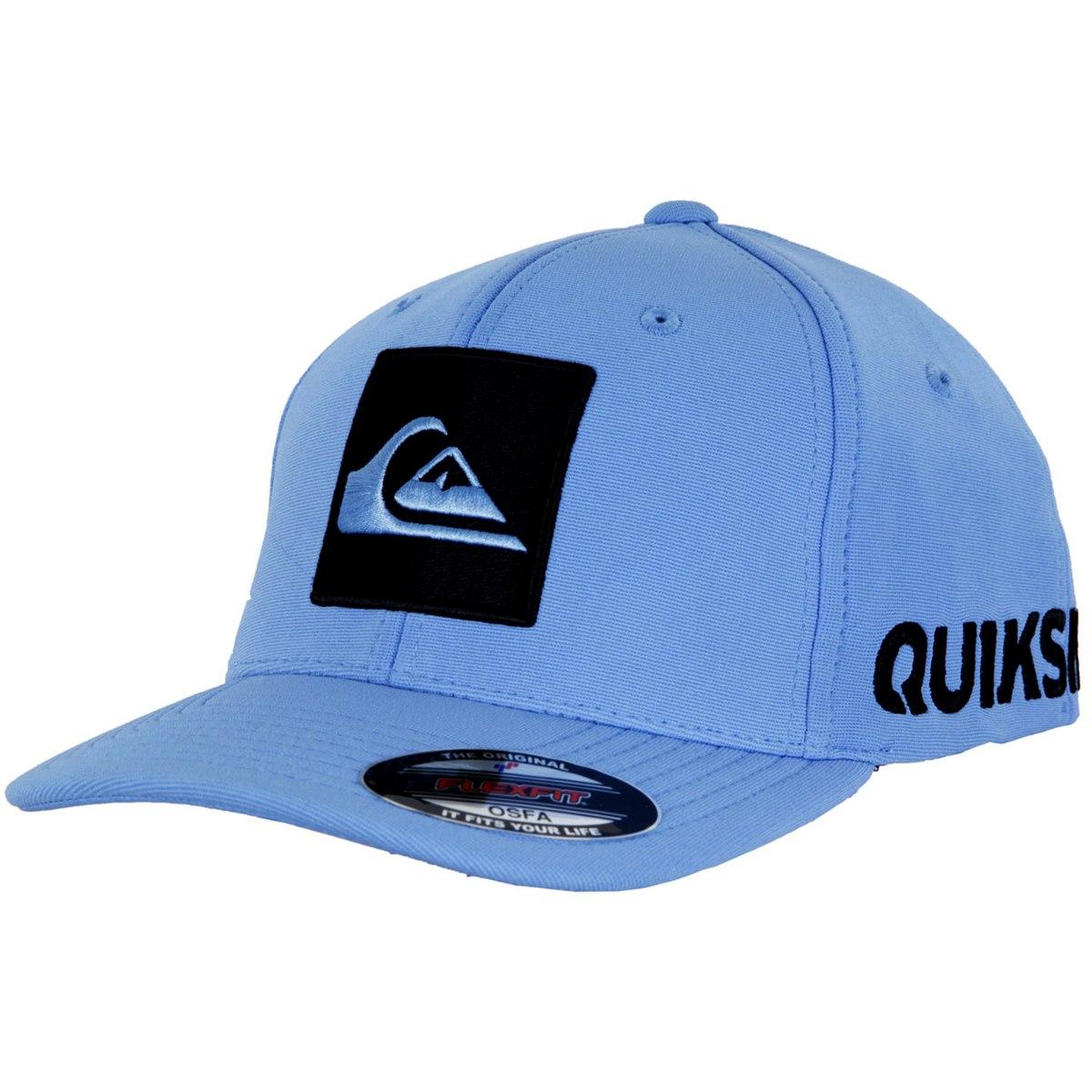 Boné Quiksilver Hard Hitter - Azul - R  252,00 em Mercado Livre 923851efff