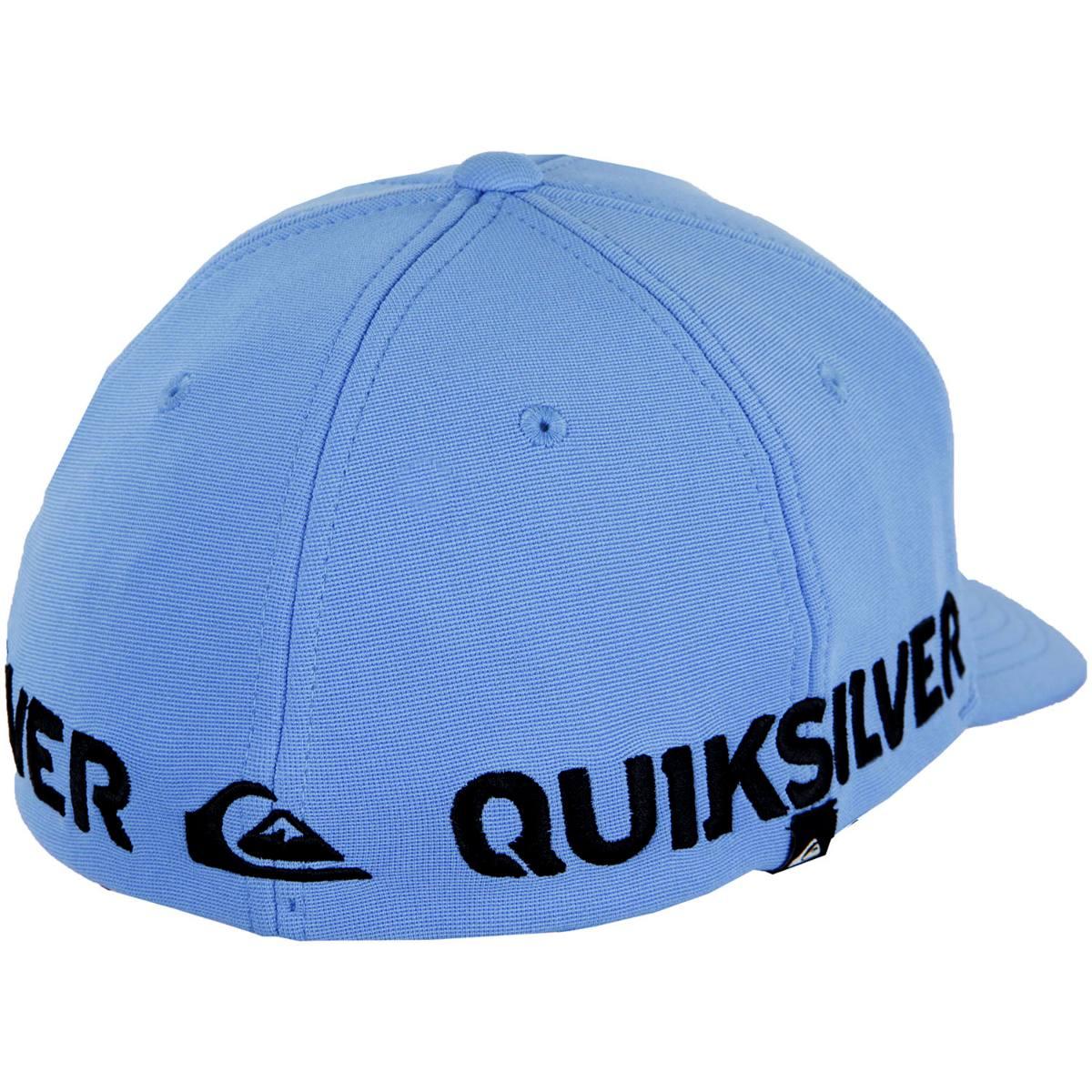 465727de2e341 boné quiksilver hard hitter - azul. Carregando zoom.